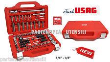 CASSETTA USAG 1/2 CASSETTA BUSSOLE JUST USAG 601 1/4-1/2 J100 PZ. ASSORTIMENTO