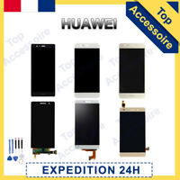 VITRE TACTILE + ECRAN LCD POUR HUAWEI P6/7/8/9/10/20/30 MATE HONOR NOVA + OUTILS