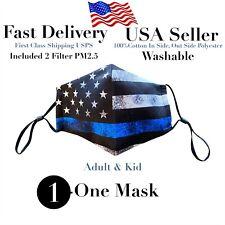 American Flag Face mask,Mask,Masks, Face Mask,Washable,Reusable included 2 filte