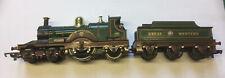 OO gauge Tri-Ang 4-2-2 'Lord of the Isles' steam locomotive & tender-R354.