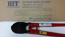 """HIT Tools  42"""" Heavy Duty Wire Rope Cutter / Steel Cable Cutter to 3/4""""  22WC42"""