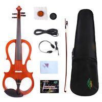 Yinfente 17inch Electric Viola Beartiful Timbre Free Case+Bow+Headphone #EL5