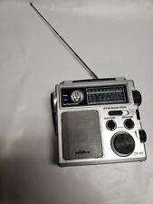Eton FR-300 Emergency Crank AM/FM Weather Radio Flashlight, Siren - Black