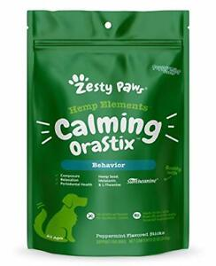 Calming Dental Sticks for Dogs - Stress & Anxiety Relief with Chamomile -...