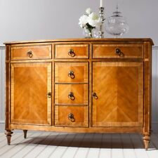 Frank Hudson Spire Sideboard with 2 cupboards & 6 drawers walnut veneer CBNF100