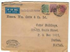India perfins on identified cover ralli bros