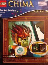 Lego Chima Pocket Folders 2 Pack  Back To School Supplies