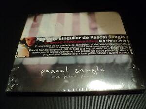 "CD DIGIPACK NEUF ""UNE PETITE PAUSE"" Pascal SANGLA / 14 titres / 2009"