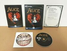 American McGee's ALICE PC DVD Rom - Original Version with Manual