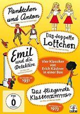 ERICH KÄSTNER-BOX (4 DVDS), THOMAS&ERICH ENGEL,JOSEF VON RAKY 4 DVD NEU