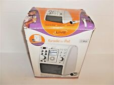 New listing New Ilive Karaoke Machine for iPod Cd Monitor Remote Control Music Microphone