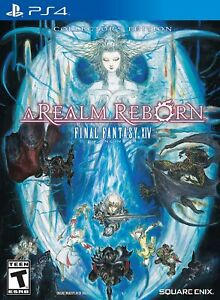 Final Fantasy XIV: A Realm Reborn - Collector's Edition [Sony PlayStation 4] NEW