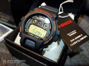 ORIGINAL CASIO G-SHOCK DW6900B FOXFIRE NEW IN BOX
