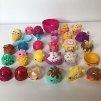 Num Noms Mixed Lot of 26 Figures Covers Light Ups Stamps Lip Balms Bowl Spoon