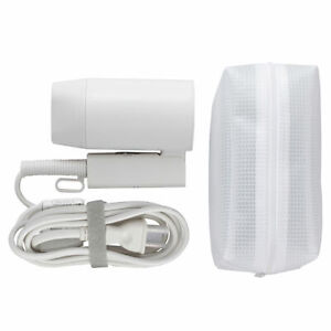 MUJI MoMA TRAVEL HAIR DRYER Two Power Voltages 1000W Compact w/ Pouch
