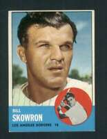 1963 Topps #180 Bill Skowron NM/NM+ Dodgers 89860