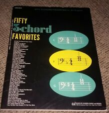 Fifty 3-Chord Favorites For All Organs-Hansen Sheet Music Book-All Organ Series