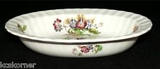 Spode Wicker Lane Basket Weave Oval Vegetable Bowl 9""