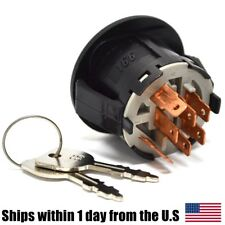 Ignition Key Switch w/ Key AYP Sears Craftsman Roper 163968 Lawn Mower Tractor
