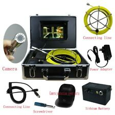 """7""""Lcd Dvr 40M Sewer Waterproof Camera Pipeline Drain Inspection System Sd Card"""