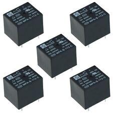 5 x 12V Mini Power Relay SPDT 15A