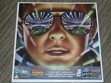 "BACK TO THE FUTURE TRILOGY BIG SLEEVE 12"" EDITION 4 BLURAY DVD MOVIES NEW SEALED"