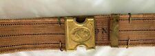 1881 Mills & Orndorf Canvas Cartridge Belt & Brass Buckle