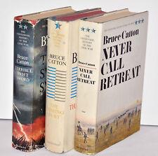 Bruce Catton Centennial History Civil War Book Lot (2 1st Editions) 1961 1963 65
