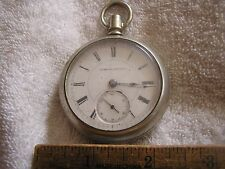 Antique Hampden  Pocket Watch Oresilver Fahys  Case