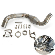 Stainless Exhaust Header Mid Exhaust Link Pipe For BMW G310GS G310R 2016-2020