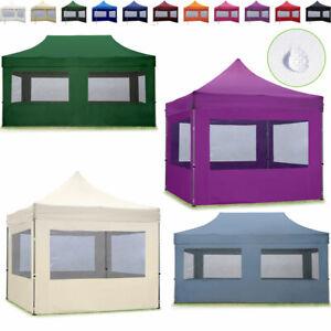 Partyzelt Faltpavillon Faltzelt ALU Gartenpavillon 3x3 3x6 Pavillon Klappzelt