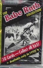 Vintage Babe Ruth Conlan Trading Cards 4 Sealed Packs