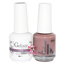 GELIXIR Soak Off Gel Polish Duo Set (Gel + Matching Lacquer) - 126