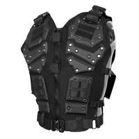Tactical Military Molle Vest Combat Assault Plate Carrier Paintball Armor