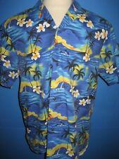 Vtg Royal Creations Made in Hawaii Floral Hawaiian Camp Shirt XL