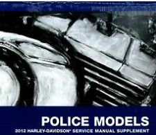 2012 Harley Davidson FLHTP ELECTRA GLIDE POLICE Service Manual Supplement NEW