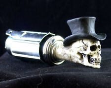 Top Hat Skull Car Cigarette Lighter Hot Rat Street Rod Punk Goth 9THCL