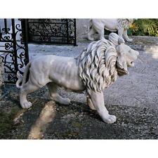 Lion European Style Estate Sentinel Sculpture Statue Right