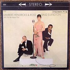 Lambert Hendricks & Ross Sing Ellington  LP Records Vinyl Album CS 8310