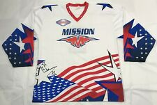 USA PROJOY MISSION International Speed Hockey League Inline Hockey Jersey XL