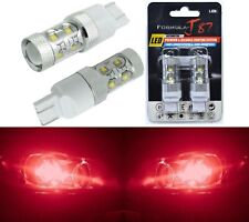 LED Light 50W 7440 Red Two Bulbs Stop Brake Tail Upgrade Replacement Lamp