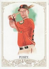 2012 Topps Allen and Ginter #47 Buster Posey San Francisco Giants Baseball Card