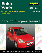 Toyota Echo Workshop Repair Manual from 1999-2005 with MPN GAP04279