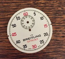 Breitling vintage stopwatch dial New Old Stock NOS