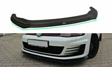 VW Golf 7 GTD Gti Diffuseur Lèvre Approche Frontale avant Spoiler Aileron V.2