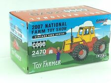 1/64 ERTL 2007 NATIONAL FARM TOY SHOW CASE 2470 4WD TRACTOR