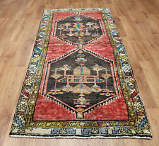 OLD WOOL HAND MADE PERSIAN ORIENTAL FLORAL RUNNER AREA RUG CARPET 203X92 CM