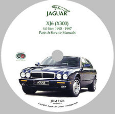1995 - 1997 Jaguar X300 (XJ6 & XJR) Parts & Service Manual CD-ROM (Used)