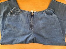 Ruby Rd. Woman's 22W Blue Jeans Zipper and Elastic Waist New Without Tags