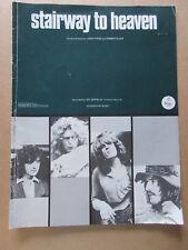 "Led Zeppelin Sheet Music ""Stairway To Heaven"" Vintage"